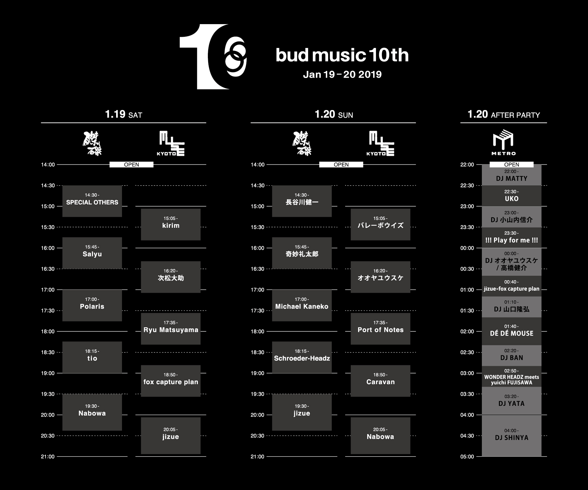 bud10th-timetable